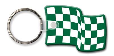 Flag Shaped Key Tag