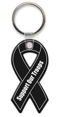 Breast Cancer Awareness Ribbon Key Tag