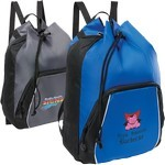 Picture of Tour Drawstring Sportpack w/ Personalization