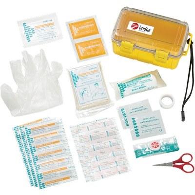 37 Pc Waterproof First Aid Box