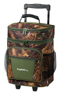 30 Can Camo Roller Cooler w/ Personalization