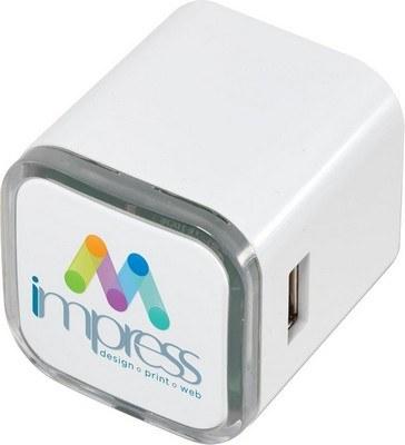 UL Listed USB Dual AC Adapter