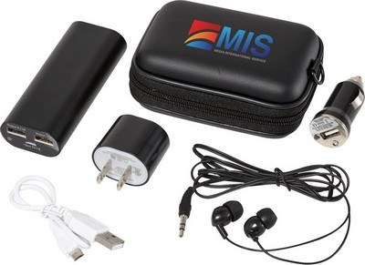 Apt Power Kit with UL Certified 4400 mAh Power Bank