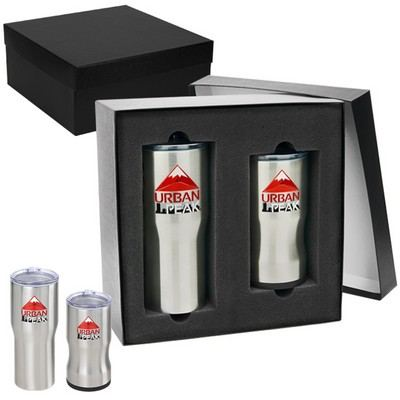 Customisable Urban Peak Gift Set (20oz/3-in-1 Insulator)