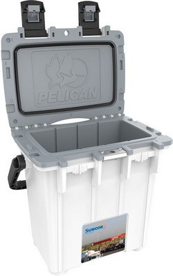 Pelican 20qt Custom Cooler - WHITE