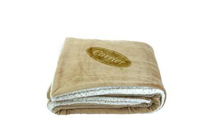Oversize Sherpa Blanket - Embroidered