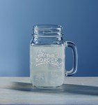Picture of Customizable Etched 16oz Handled Mason Jar