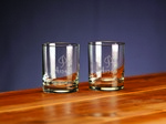 Picture of Custom Etched Selection Double Old Fashion Glass