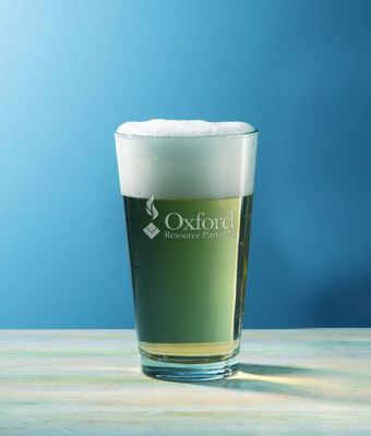Customizable Sterling Cut Glass Selection Ale Glass
