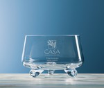 Picture of Customizable Fairfax Small Crystal Footed Bowl