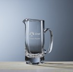 Picture of Custom Etched Crystal New York Pitcher