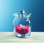 Picture of Custom Etched Crystal Mayfair Candy Jar