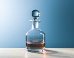 Picture of Customizable Etched Crystal Classic Whiskey Decanter