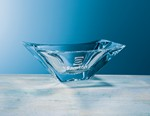 Picture of Custom Etched Crystal Rectangle Reflection Bowl