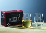 "Picture of Custom Crystal Riedel ""O"" Riesling Glass Set"