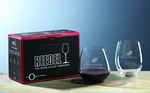 "Picture of Custom Crystal Riedel ""O"" Cabernet/Merlot Glass Set"