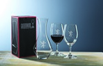 Picture of Custom Crystal Riedel Ouverture Wine Glass Set