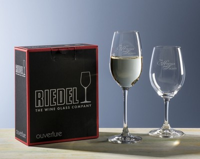 Custom Riedel Ouverture White Wine Set