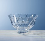 Picture of Custom Etched Medium Crystal Brookhaven Bowl