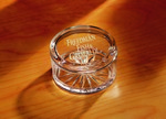 Picture of Customizable Etched Crystal Chelsea Desktop Box