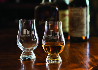 Customizable Etched Glencarin Whisky Glass