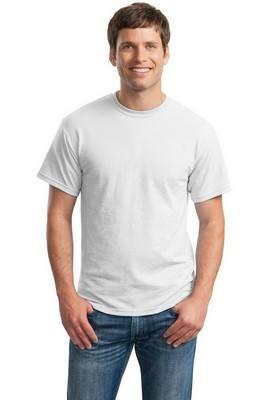 Gildan DryBlend 50 Cotton/50 DryBlendPoly White T-Shirt