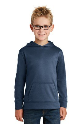 Port & Company® Youth Performance Fleece Pullover Hooded Sweatshirt