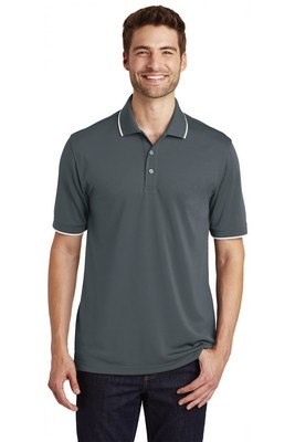Port Authority® Dry Zone®UV Micro-Mesh Tipped Polo