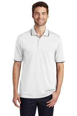 Port Authority®Dry Zone®UV Micro-Mesh Tipped Polo