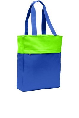 Port Authority Colorblock Tote Bag