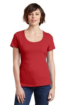 District Made Ladies Perfect Weight Scoop Tee