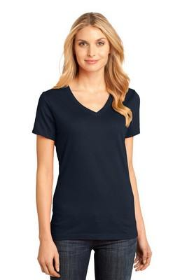 District Made Ladies V-Neck Tee