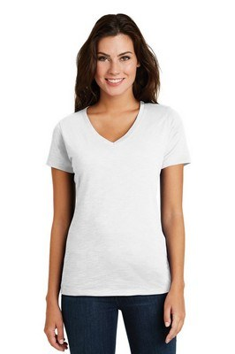 District Made Ladies Super Slub V-Neck Tee