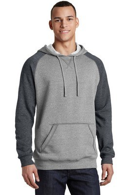 District Young Men's Lightweight Fleece Raglan Hoodie