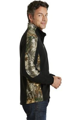 Port Authority Camouflage Microfleece Full-Zip Jacket