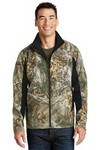 Picture of Port Authority Camouflage Colorblock Soft Shell