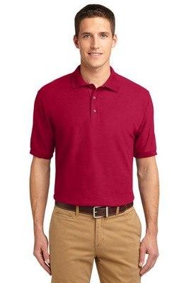 Port Authority Men's Silk Touch Short Sleeve Polo