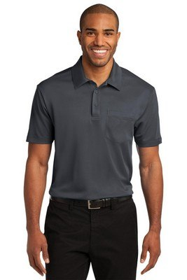 Port Authority Silk Touch Performance Polo with Pocket