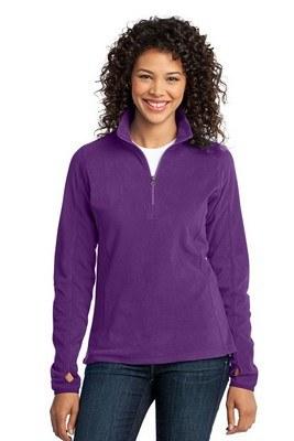 Port Authority Ladies Microfleece 1/2-Zip Pullover Jacket