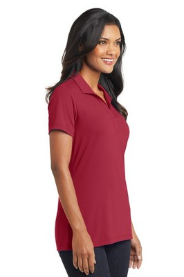Port Authority Ladies Short Sleeve Cotton Touch Performance Polo