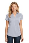 Picture of Port Authority Ladies Digi Heather Performance Polo