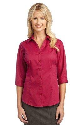 Port Authority Ladies 3/4-Sleeve Blouse
