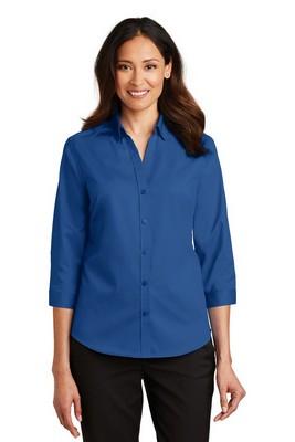 Port Authority Ladies ¾ - Sleeve SuperPro Twill Shirt