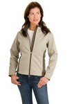 Picture of Port Authority Ladies Two-Tone Soft Shell Jacket