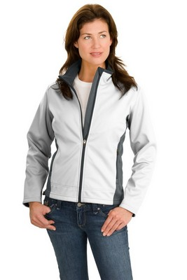 Port Authority Ladies Two-Tone Soft Shell Jacket
