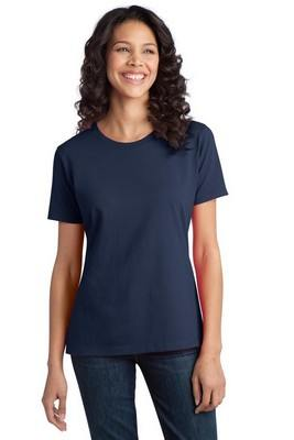 Port & Company Ladies Essential Ring Spun Cotton Color T-Shirt