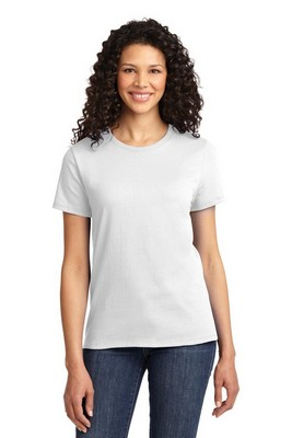 Port & Company - Ladies Essential White T-Shirt
