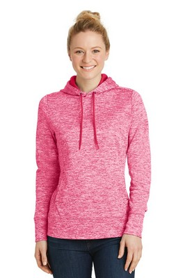 Sport-Tek Ladies PosiCharge Electric Heather Fleece Hooded Pullover