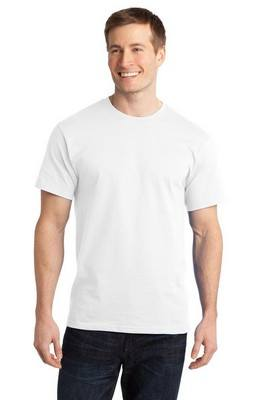 Port & Company Essential Ring Spun Cotton White T-Shirt