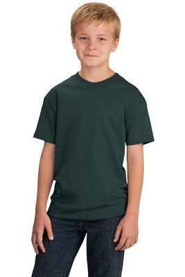 Port & Company Youth 54-oz 100% Cotton Color T-Shirt